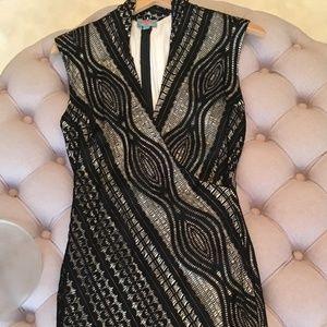 Plenty by Tracy Reese black lace dress size M